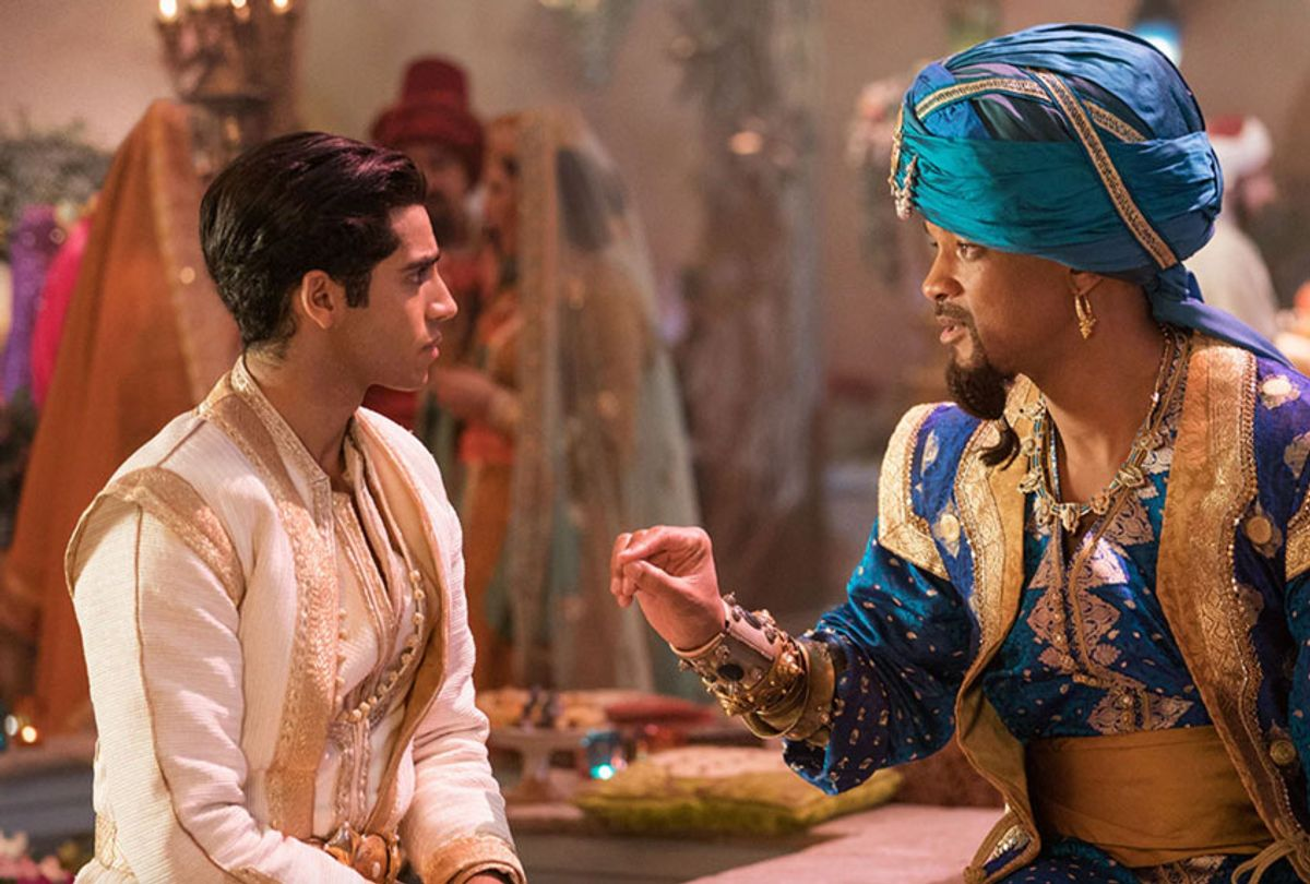 """Mena Massoud and Will Smith in """"Aladdin"""" (Walt Disney Pictures)"""