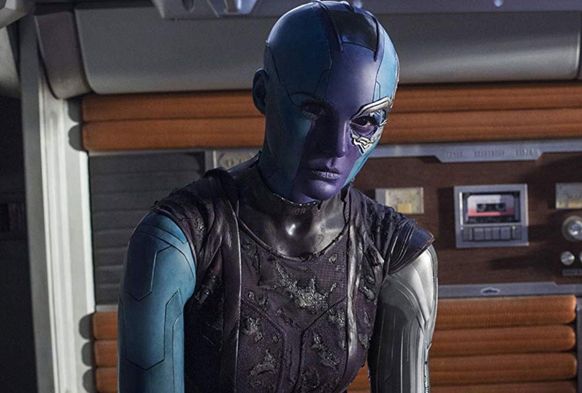 """Karen Gillan in """"Guardians of the Galaxy Vol. 2"""" (Marvel Studios)"""