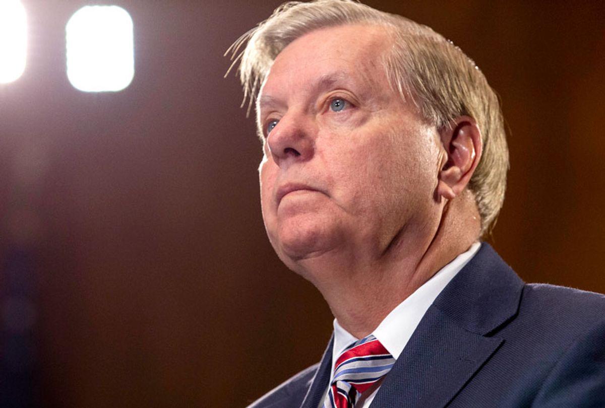 Senate Judiciary Chairman Lindsey Graham (R-SC) (Getty/Anna Moneymaker)