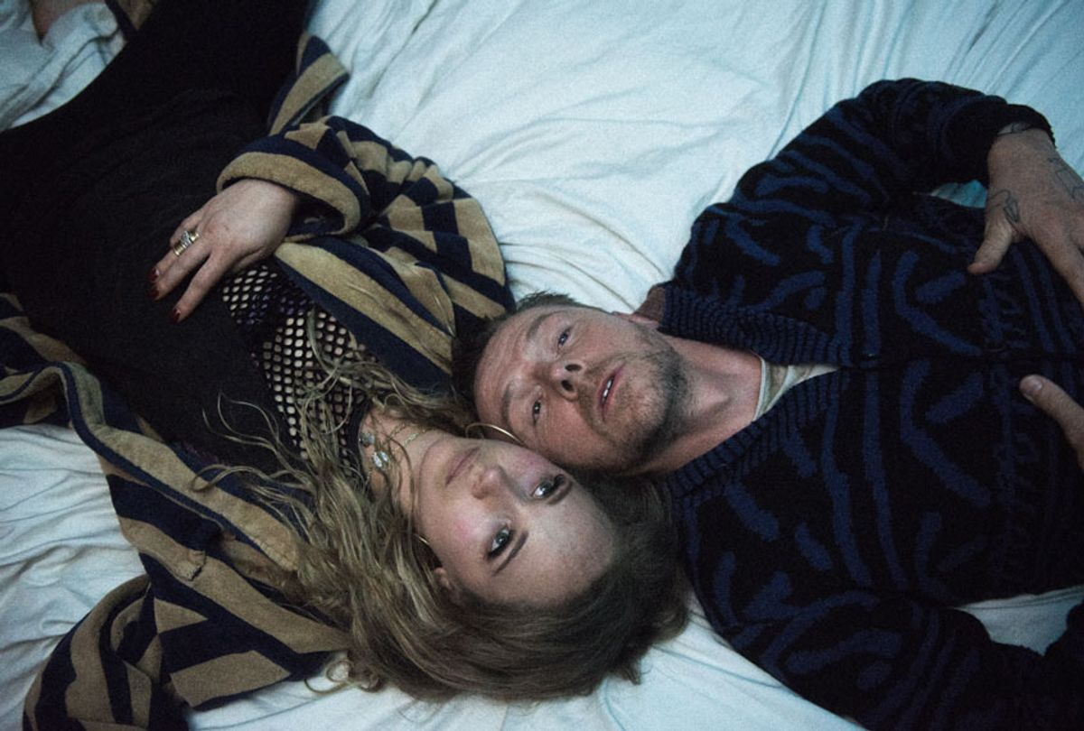 """Juno Temple and Simon Pegg in """"Lost Transmissions"""" (Elizabeth Kitchens)"""