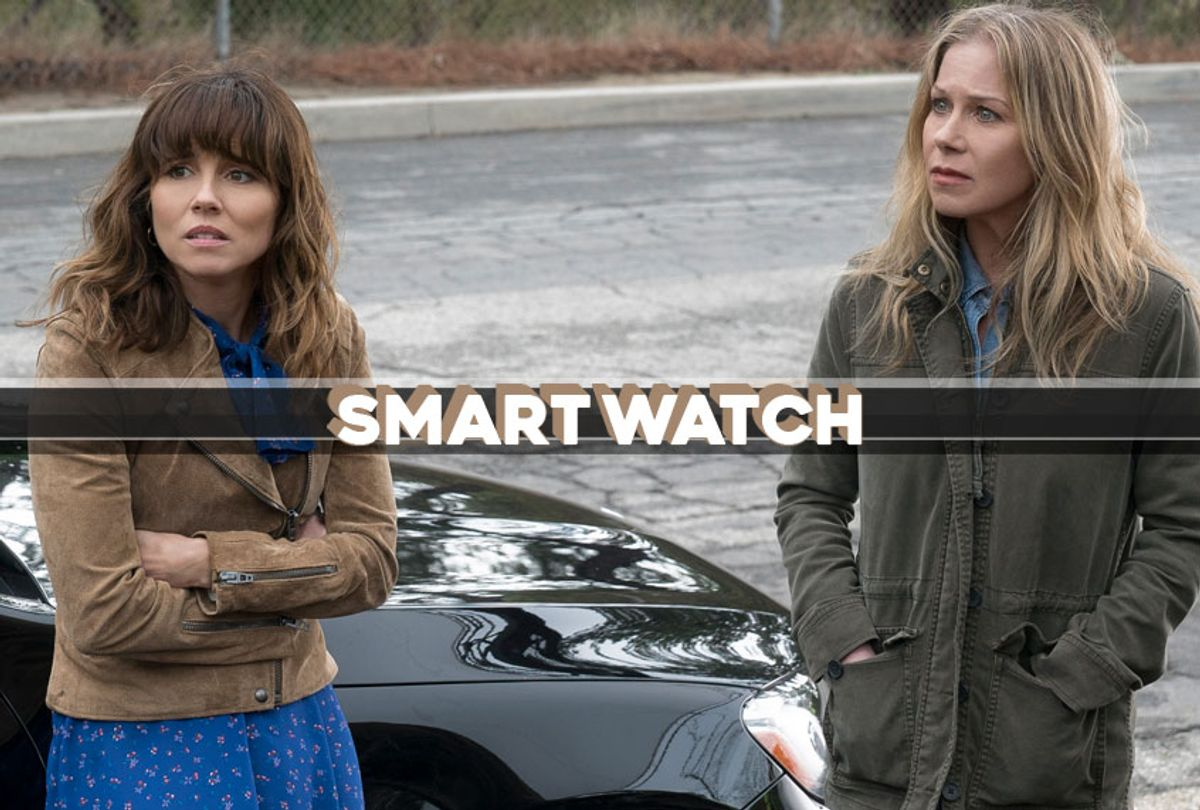 """Linda Cardellini and Christina Applegate in """"Dead to Me"""" (Netflix)"""