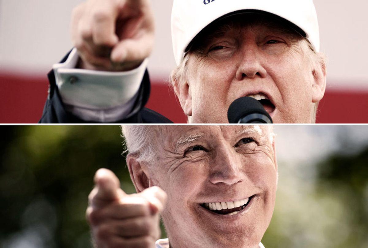 Donald Trump; Joe Biden (AP/Getty/Salon)