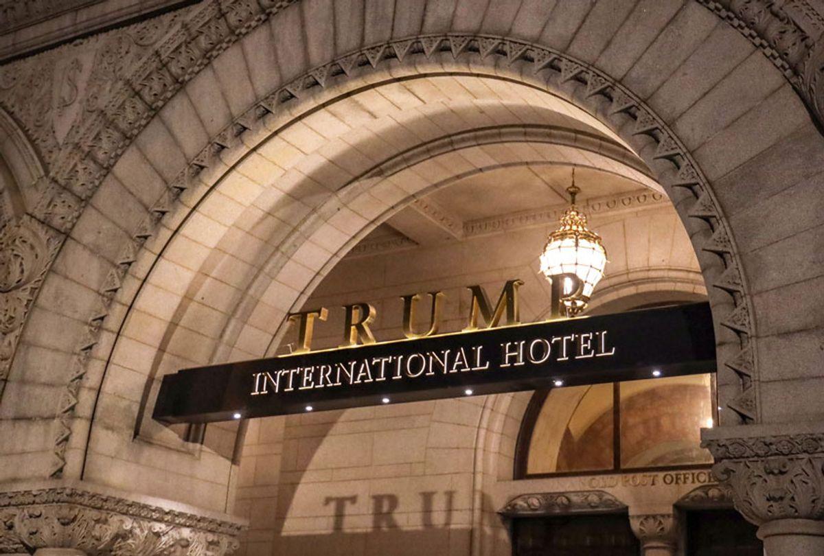 The Trump International Hotel in Washington, DC (Getty/Alex Wroblewski)
