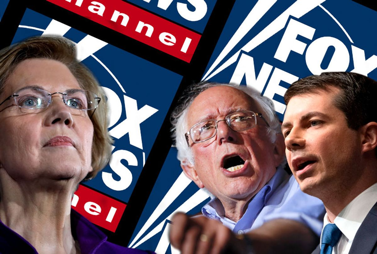 Elizabeth Warren; Bernie Sanders; Pete Buttigieg (AP/Salon)
