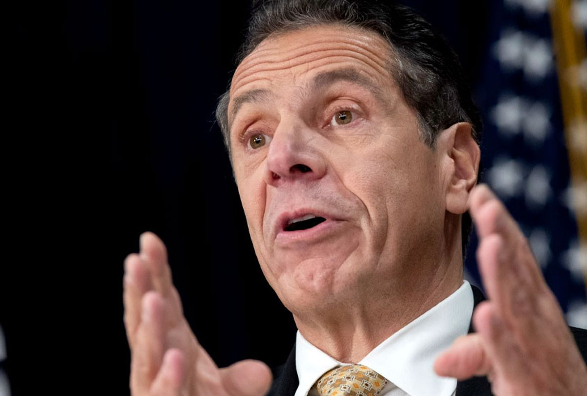 New York Governor Andrew Cuomo (Getty/Drew Angerer)
