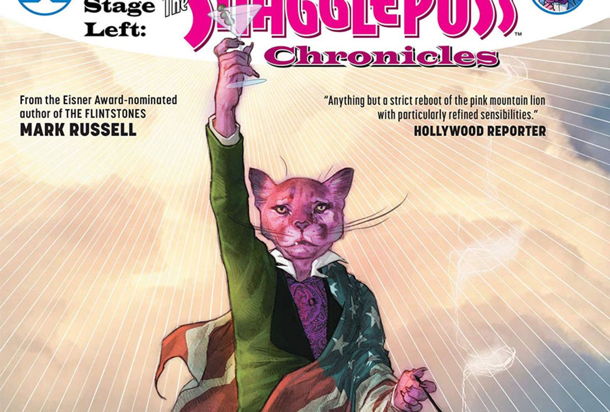 """""""Exit Stage Left: The Snagglepuss Chronicles"""" by Mark Russell (DC Comics)"""
