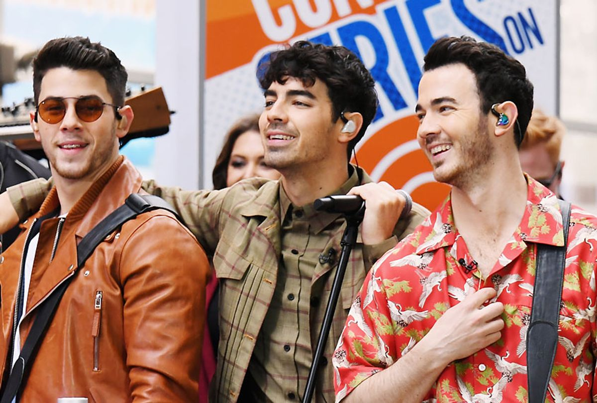 """The Jonas Brothers perform On NBC's """"Today"""" at Rockefeller Plaza on June 07, 2019 in New York City. (Getty/Nicholas Hunt)"""