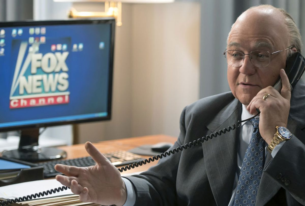 """Russell Crowe as Roger Ailes in """"The Loudest Voice"""" (JoJo Whilden/Showtime)"""