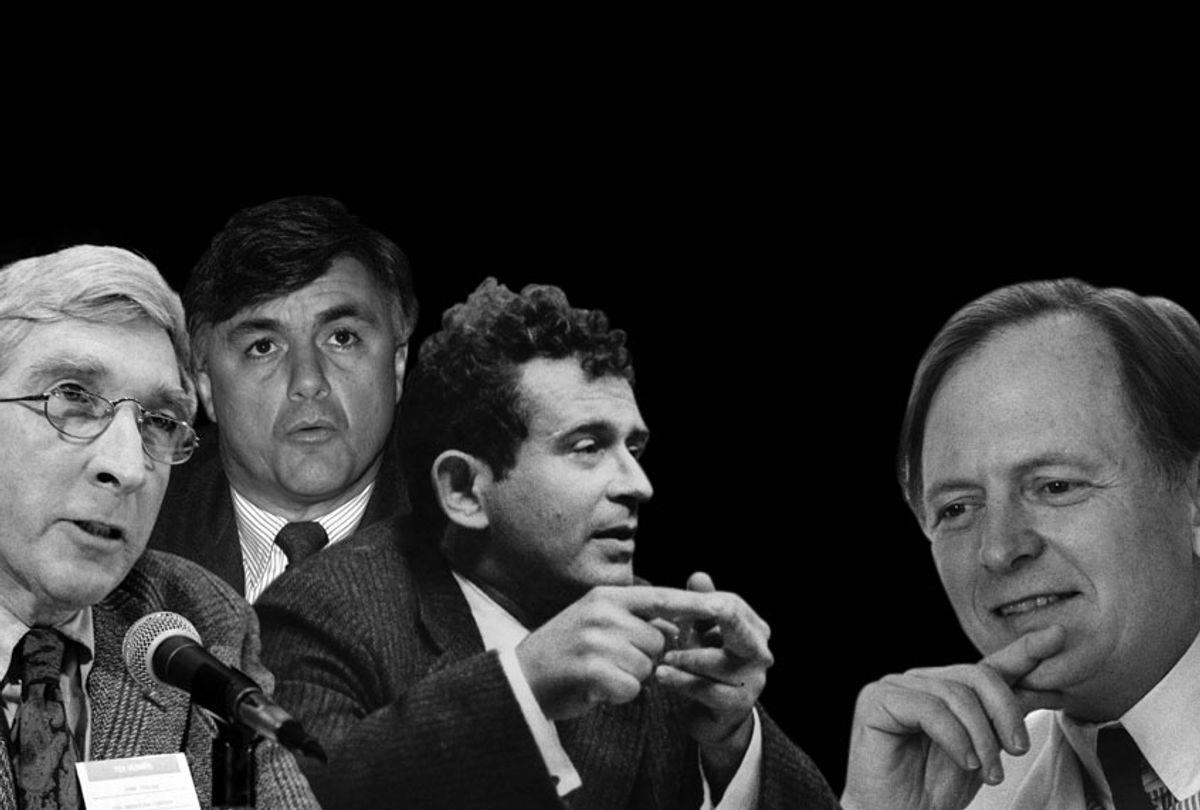 John Updike; John Irving; Norman Mailer; Tom Wolfe (AP/Getty/Salon)