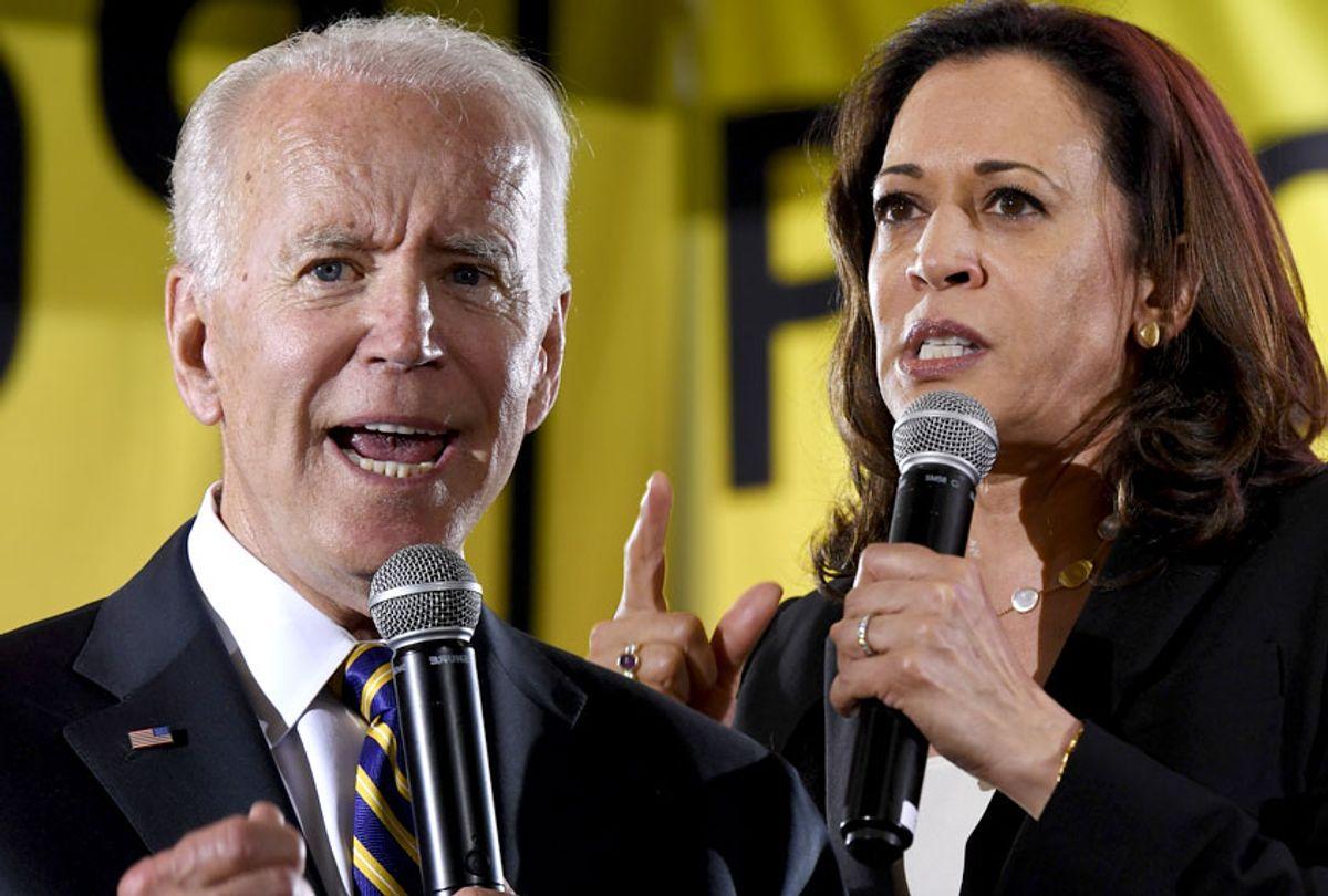 Joe Biden; Kamala Harris (AP/Salon)