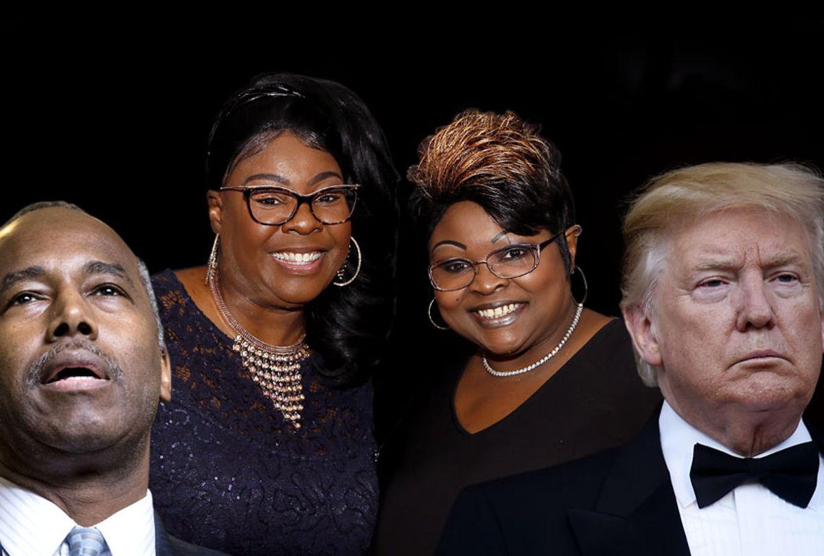Ben Carson; Diamond; Silk; Donald Trump (Getty/AP/Salon)