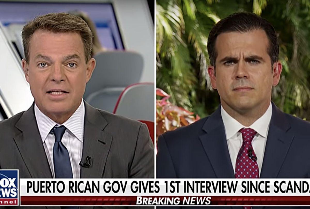Shep Smith interviews Ricardo Rosselló (Fox News)