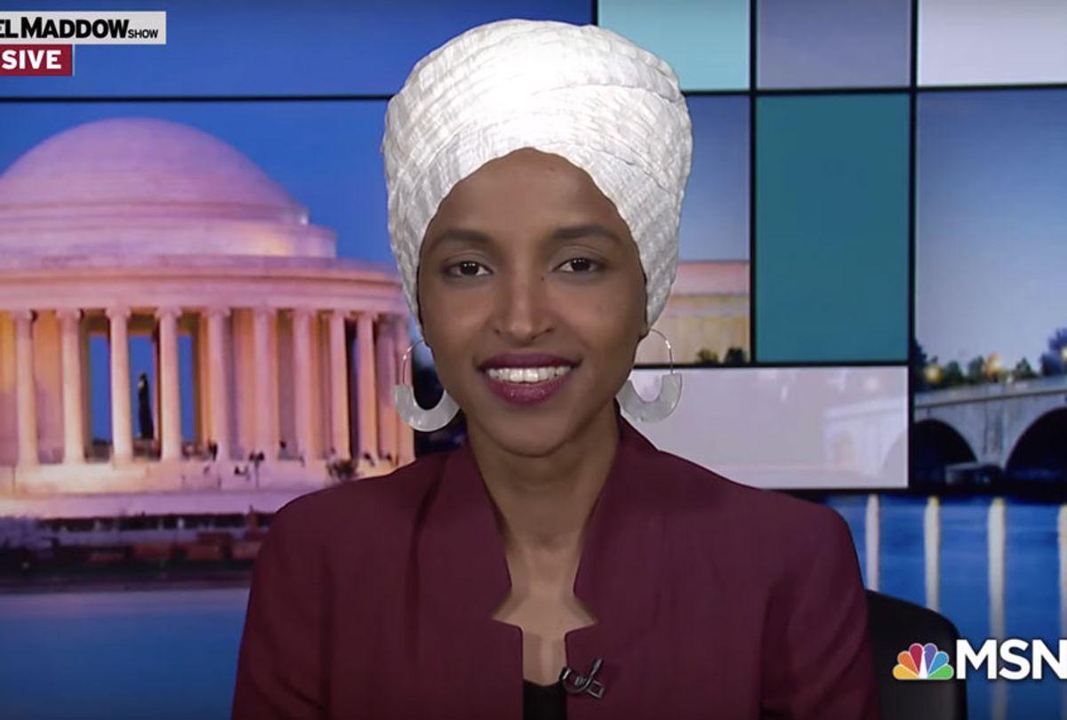Ilhan Omar on Rachel Maddow (MSNBC)