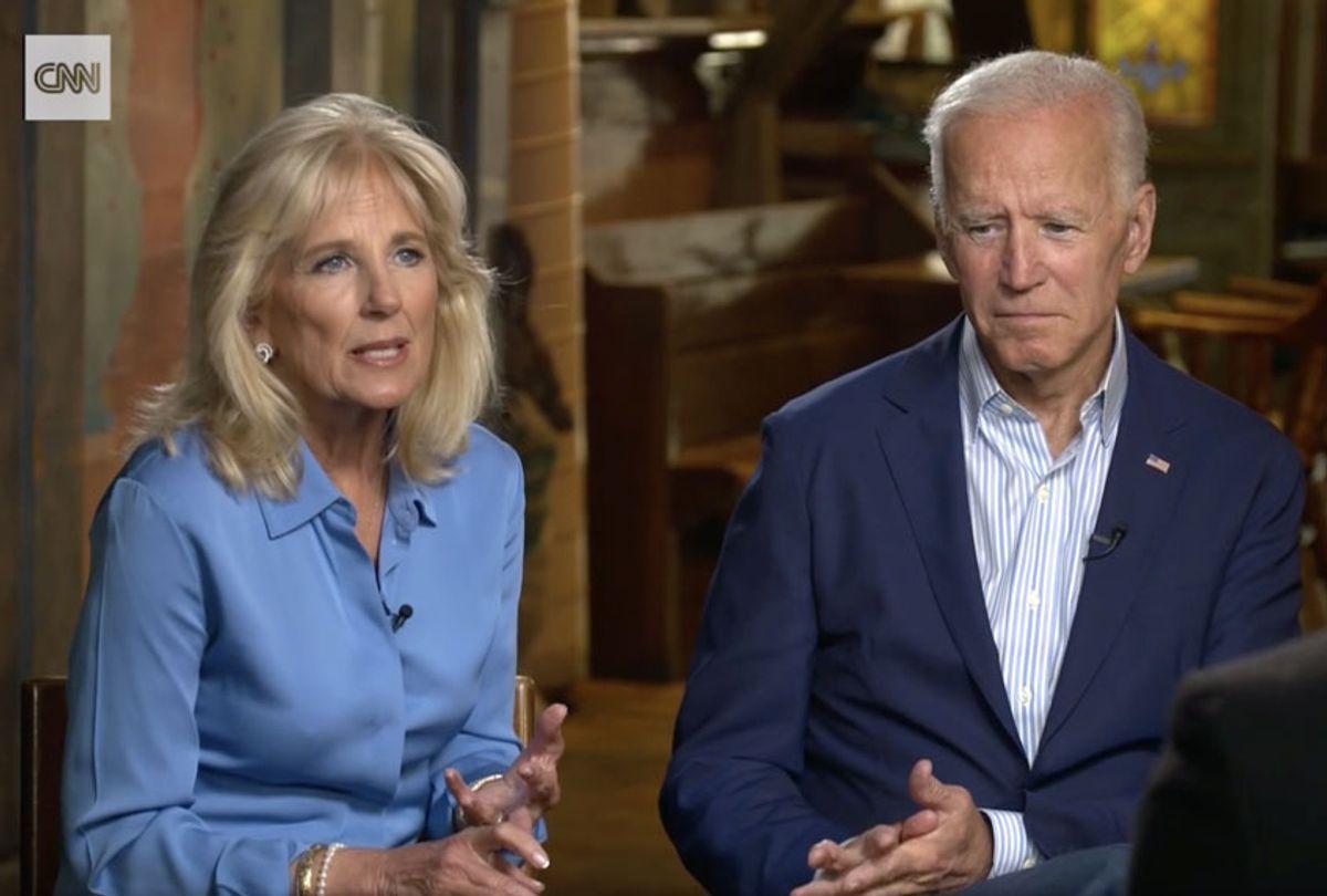 Jill and Joe Biden (CNN)
