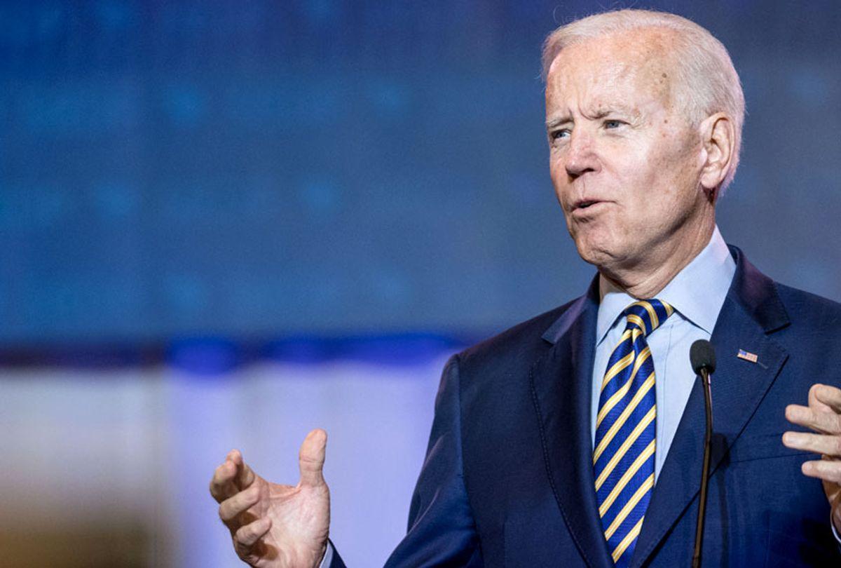 Democratic presidential candidate, former Vice President Joe Biden (Getty/Sean Rayford)