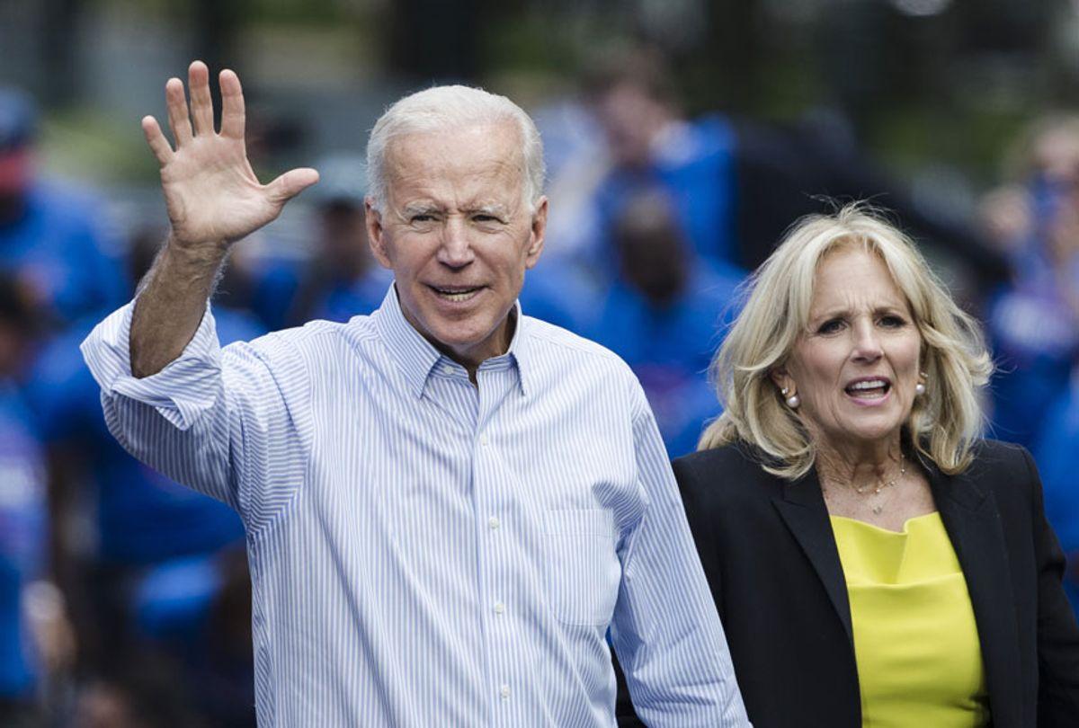 Joe Biden and wife, Jill Biden (AP/Matt Rourke)