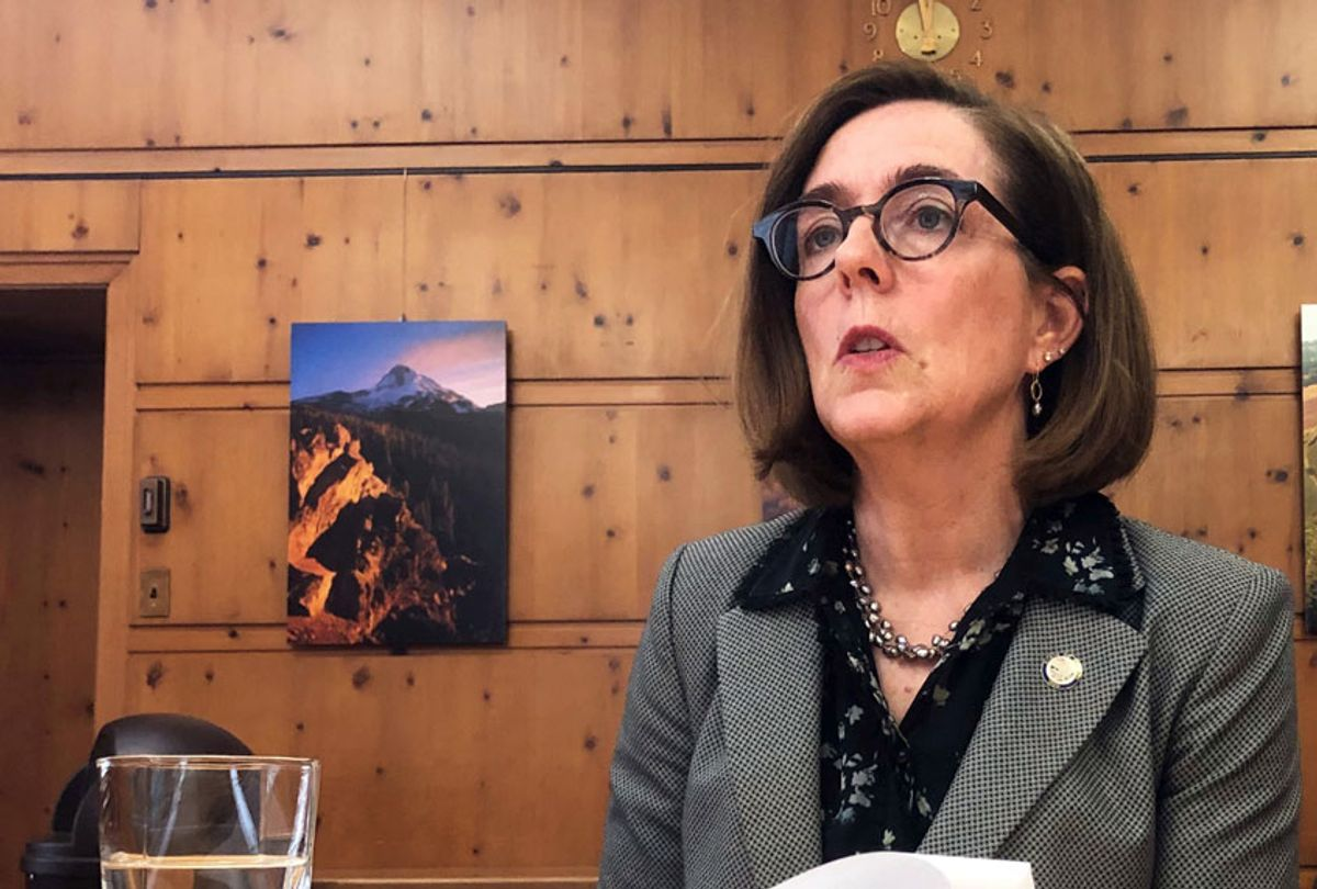 Oregon Gov. Kate Brown (AP/Sarah Zimmerman)