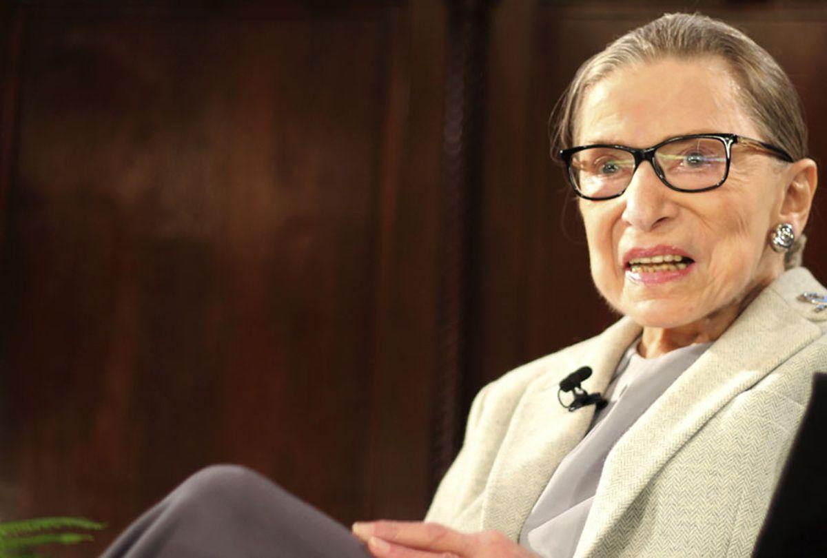 Ruth Bader Ginsburg (AP/Rebecca Gibian)