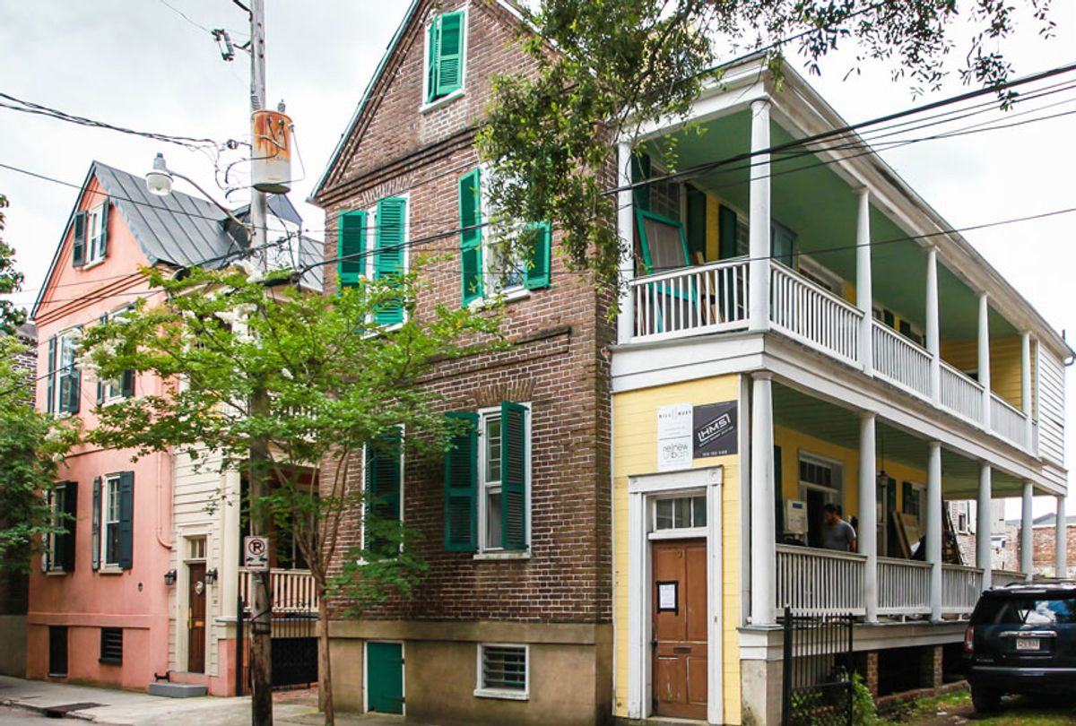 """In Charleston, South Carolina, """"This Old House"""" follows the renovation of a """"Single House"""" already under way. (Courtesy of ©Kevin O'Connor)"""
