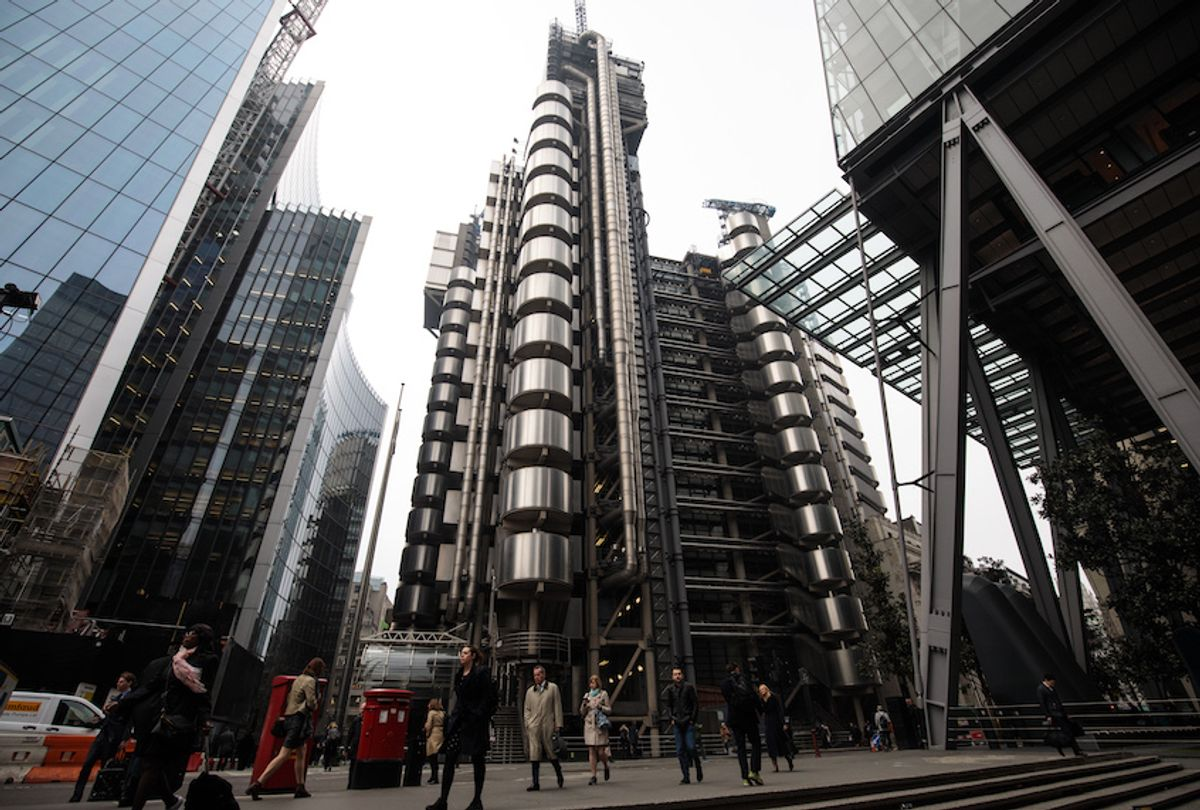 A general view of the Lloyd's building, home of the world's largest insurance market Lloyd's of London, on March 27, 2017 in London, England.  (Photo by Jack Taylor/Getty Images)