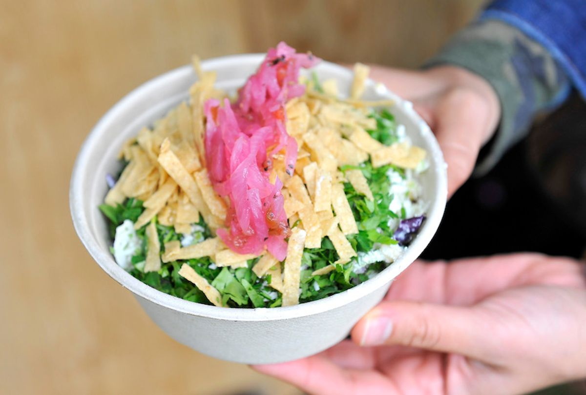 """at Chipotle's """"Cultivate San Francisco"""" a culinary celebration in Golden Gate Park on June 8, 2013 in San Francisco, California. (Steve Jennings/Getty Images)"""