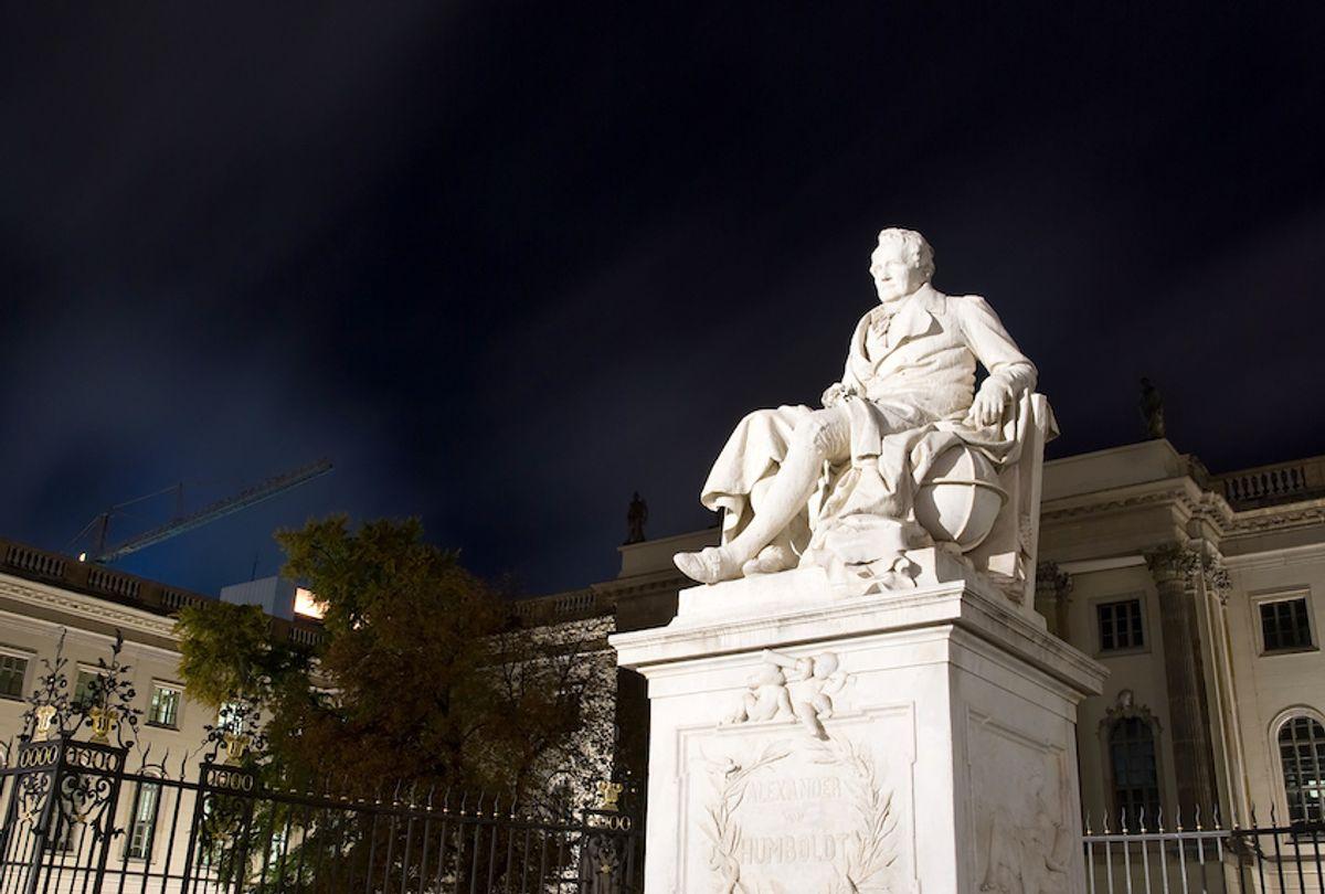 A statue of Alexander von Humboldt in Berlin. ([martin] / Flickr)