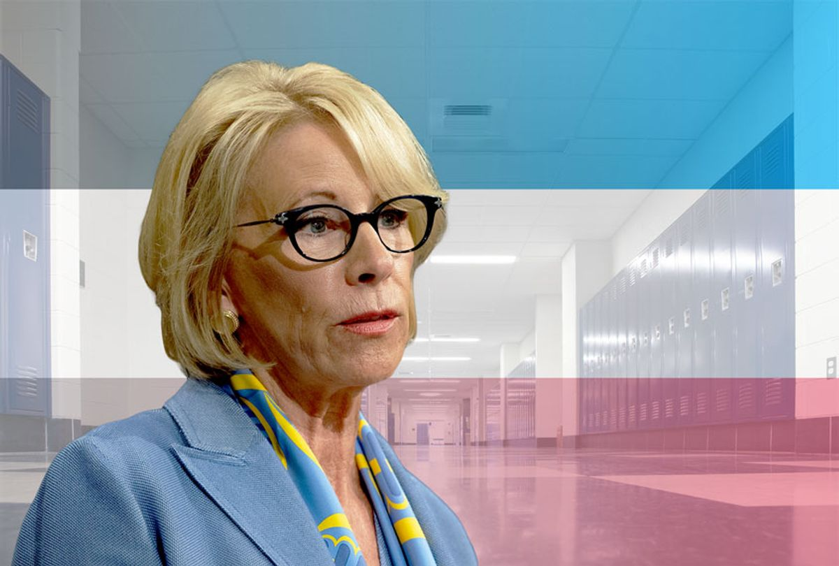 Education Secretary Betsy DeVos  (Getty Images/Saul Loeb/Salon)