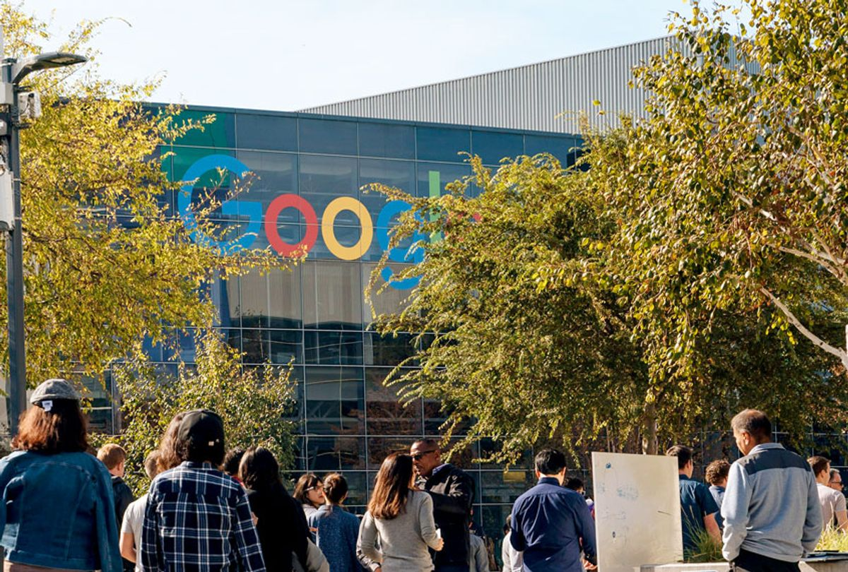 Google employees walk off the job to protest (Mason Trinca/Getty Images)