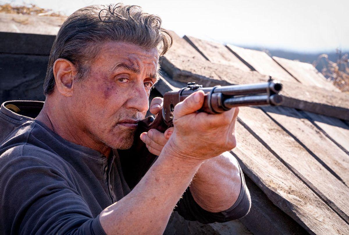 Sylvester Stallone stars as 'Rambo' in RAMBO: LAST BLOOD (Lionsgate/Yana Blajeva)