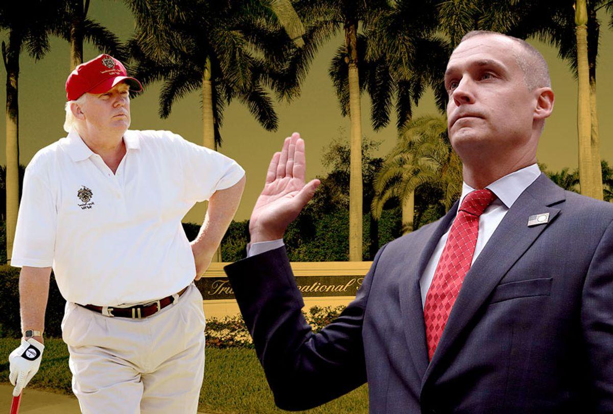 Corey Lewandowski and Donald Trump (AP Photo/Susan Walsh/Jacquelyn Martin)