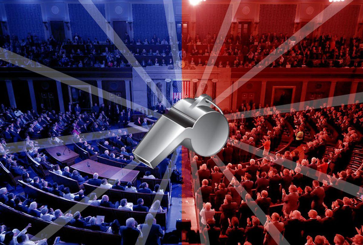 Whistleblower in congress (Getty Images/Salon)