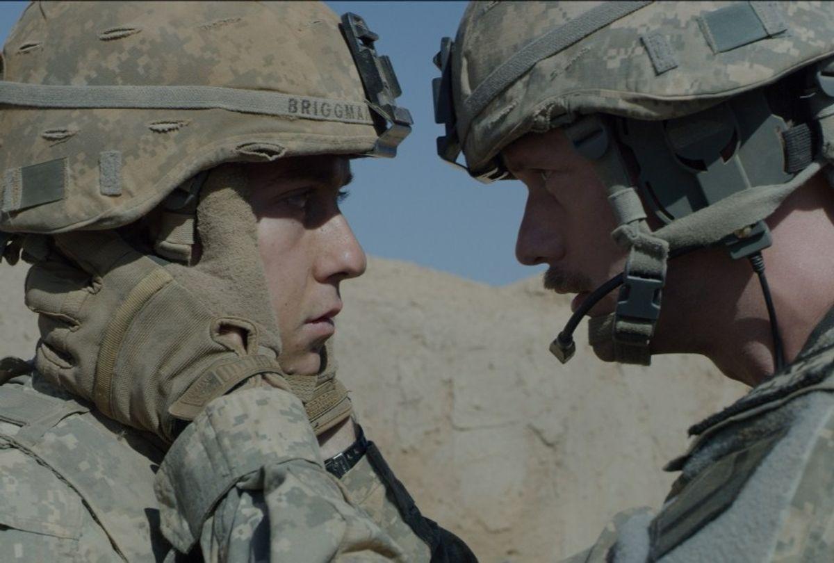 "Nat Wolff and Alexander Skarsgard, ""The Kill Team"" (A24)"