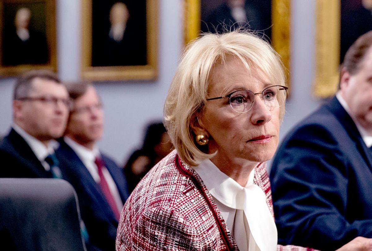 Education Secretary Betsy DeVos (AP Photo/Andrew Harnik)