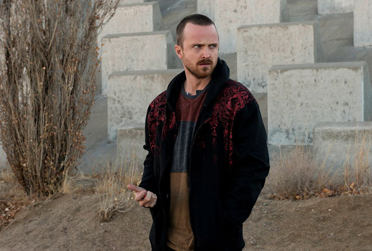 """Stil from """"Breaking Bad"""" Season 5, Episode 11, with Aaron Paul as Jesse Pinkman (Ursula Coyote/AMC)"""