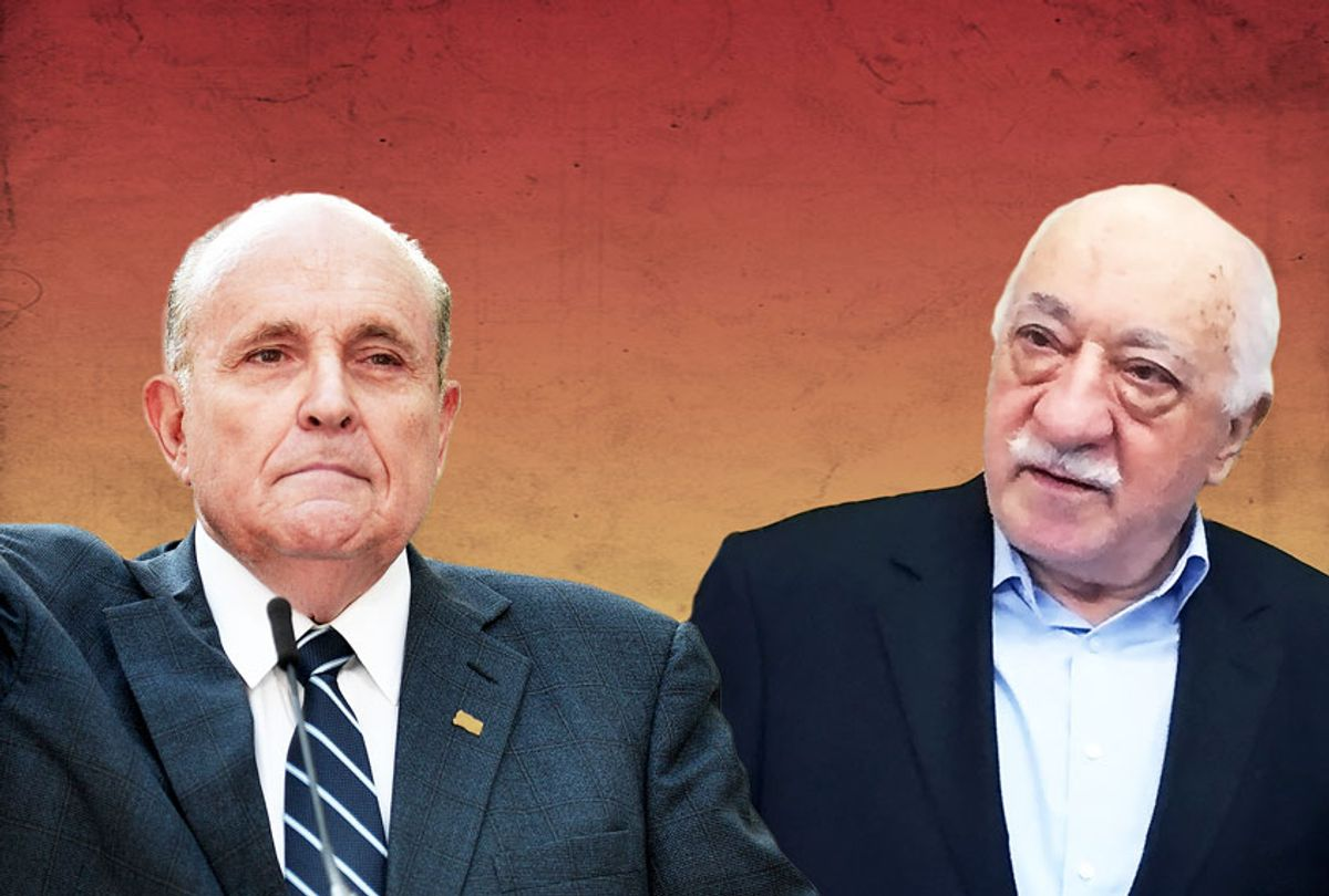 Rudy Giuliani and Fethullah Gulen (Getty Images/Salon)