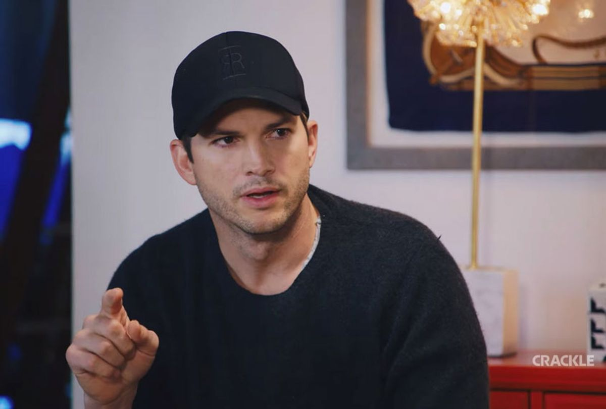 """Ashton Kutcher in his upcoming feature film """"Going From Broke"""" (Sony/Crackle)"""