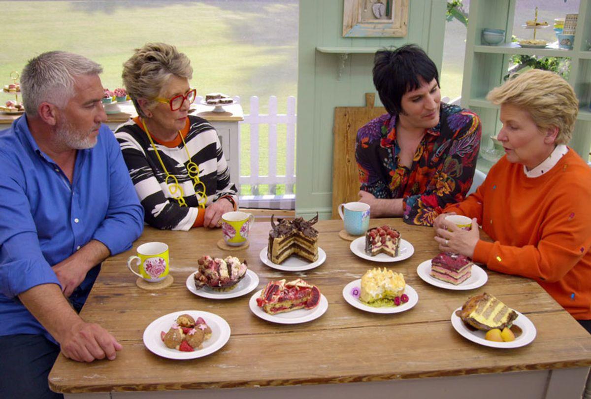 Still from The Great British Bake-Off, season 6, Dessert week (Netflix/BBC)