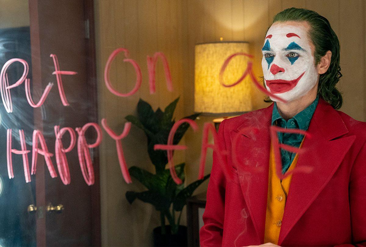 "Joaquin Phoenix as Arthur Fleck in ""Joker"" (Niko Tavernise/Warner Bros. Entertainment)"