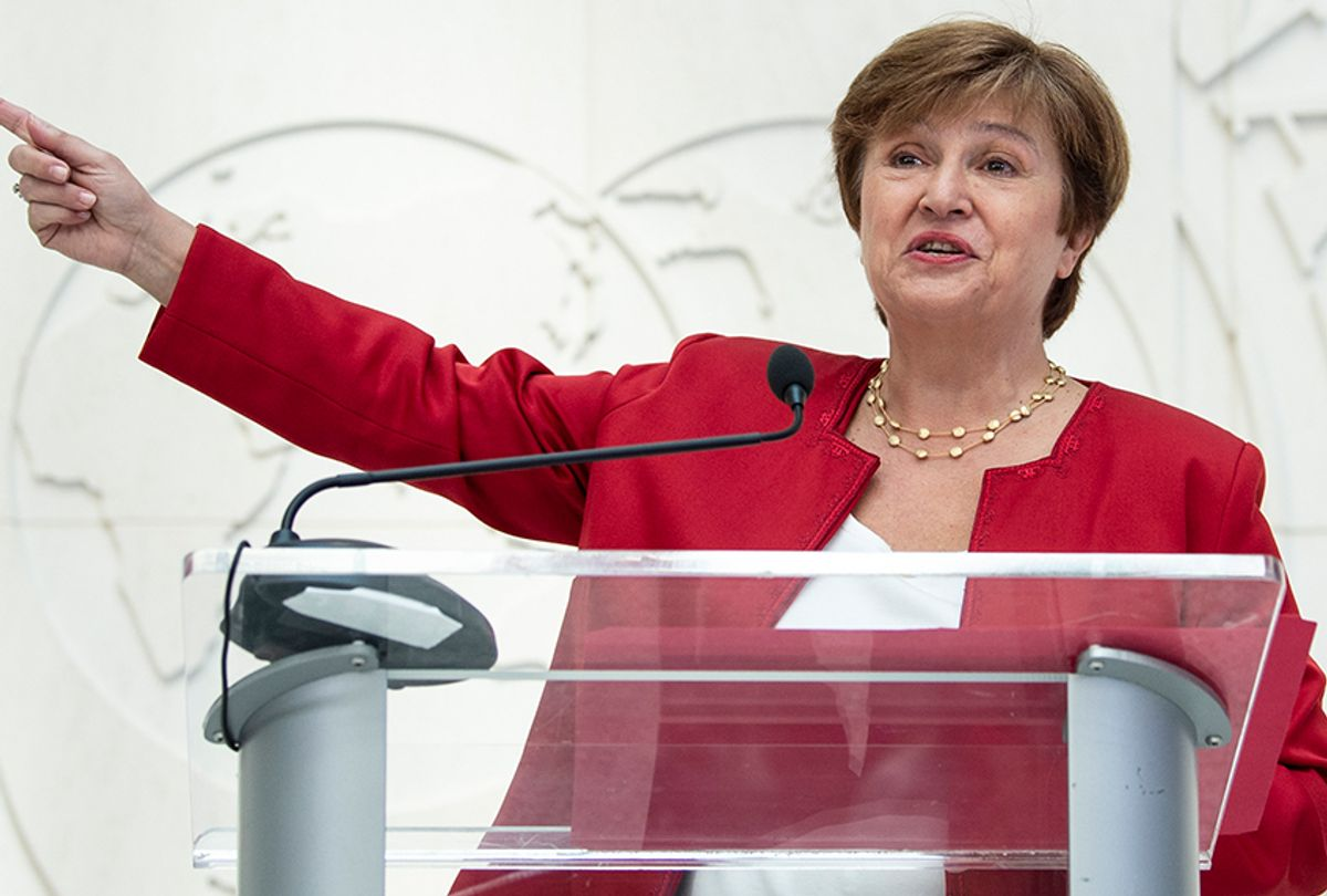 Managing Director of the International Monetary Fund Kristalina Georgieva  (Eric Baradat/AFP/Getty Images)