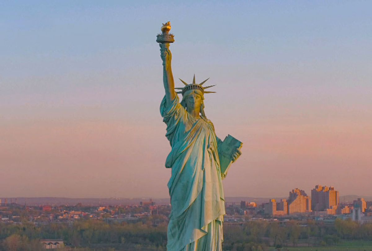 Statue of Liberty (Courtesy of HBO)