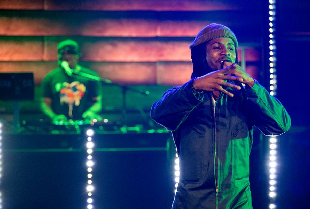 "DJ Head on Netflix's ""Rhyth + Flow"" (Adam Rose/Netflix)"