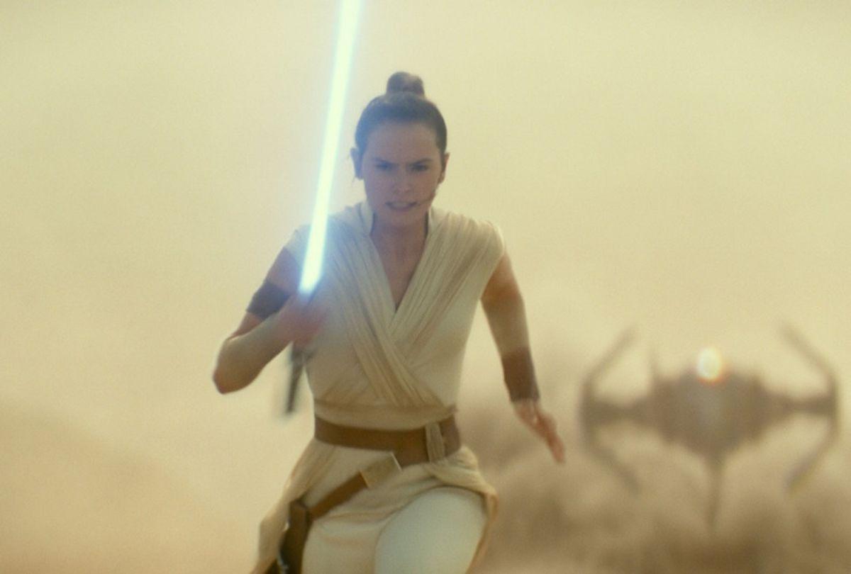 "Daisy Ridley, ""Star Wars: The Rise of Skywalker"" (Walt Disney Studios)"