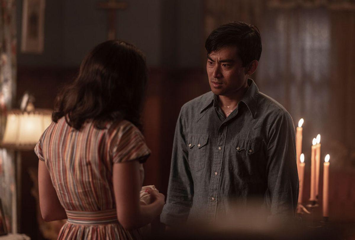 Cristina Rodlo as Luz Ojeda, Derek Mio as Chester Nakayama- The Terror _ Season 2, Episode 8 (Ed Araquel/AMC)