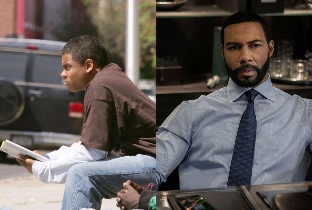"Tristan Mack Wilds in ""The Wire"" & Omari Hardwick in ""Power"" (HBO/STARZ)"