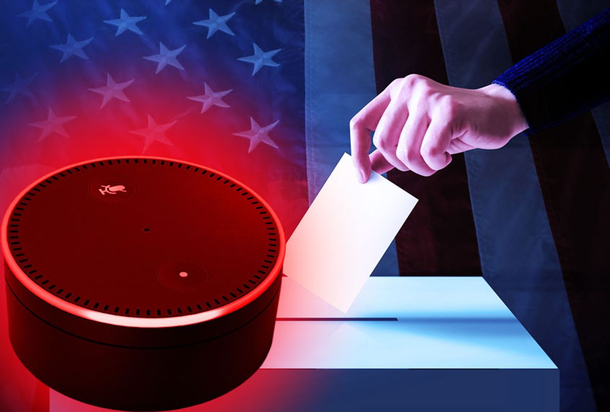 Amazon affecting election results (Getty Images/Salon)