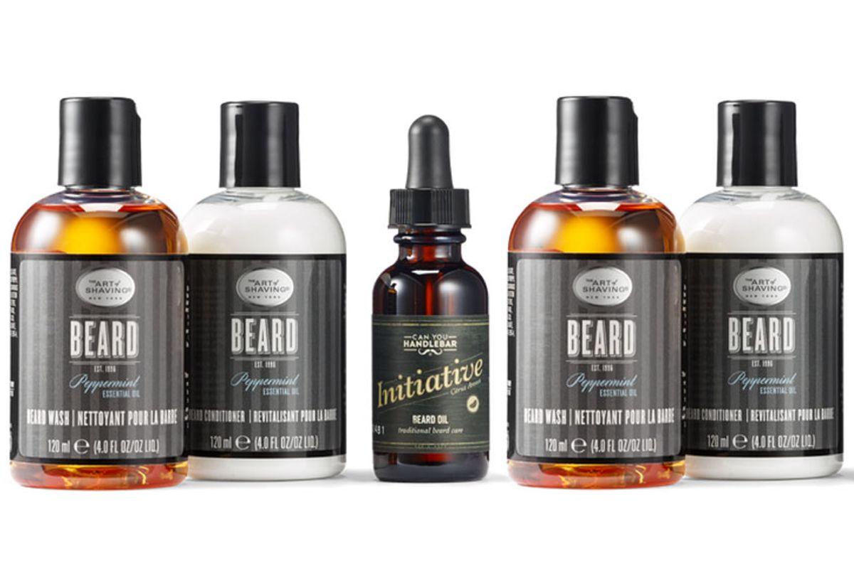 Art Of Shaving beard wash, beard conditioner and beard oil (Art of Shaving)