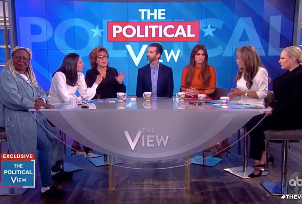 Don Jr. on The View (ABC)