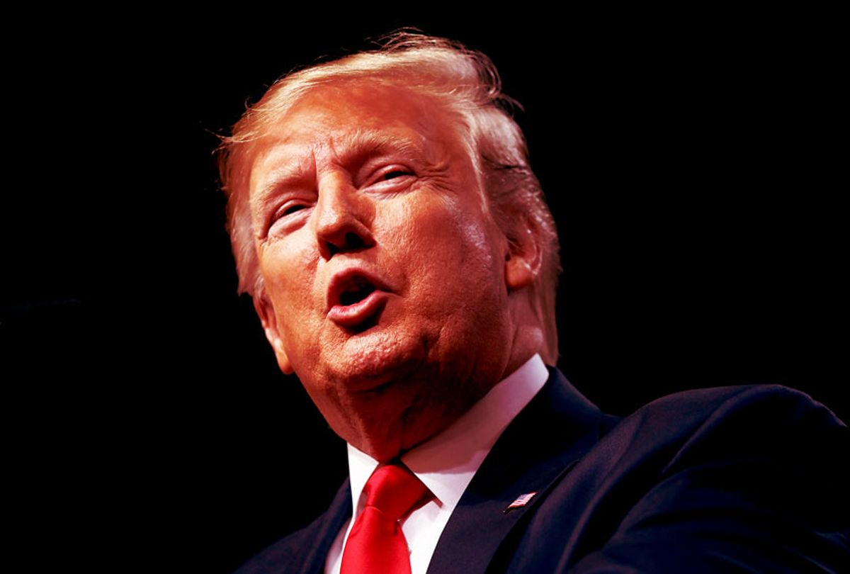 US President Donald Trump (Spencer Platt/Getty Images)