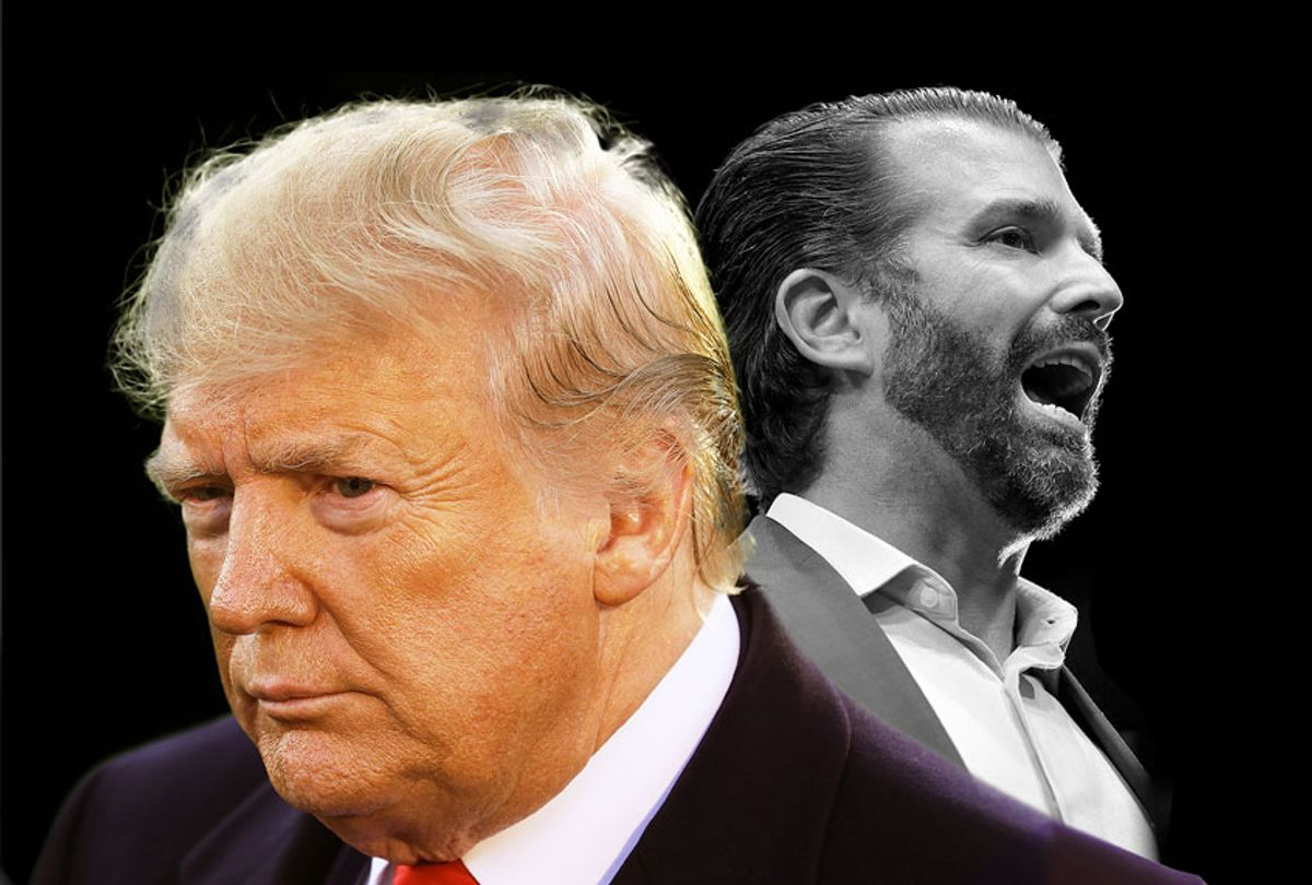 Donald Trump and Don Jr. (Getty Images/Chip Somodevilla/Scott Olson)