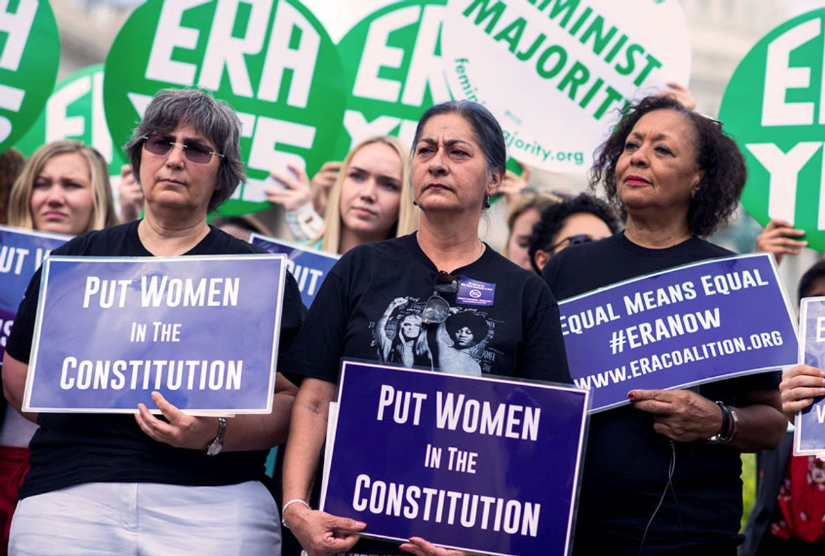 Equal Rights Amendment protest (Tom Williams/CQ Roll Call/Getty Images)